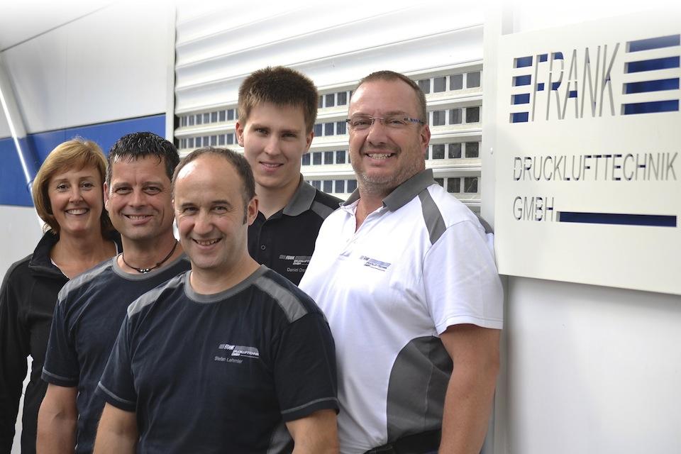 drucklufttechnik-Frank-Team